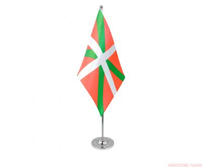 BASQUE - DELUXE SATIN TABLE FLAG